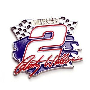 NASCAR Rusty Wallace #2 Lapel Pin